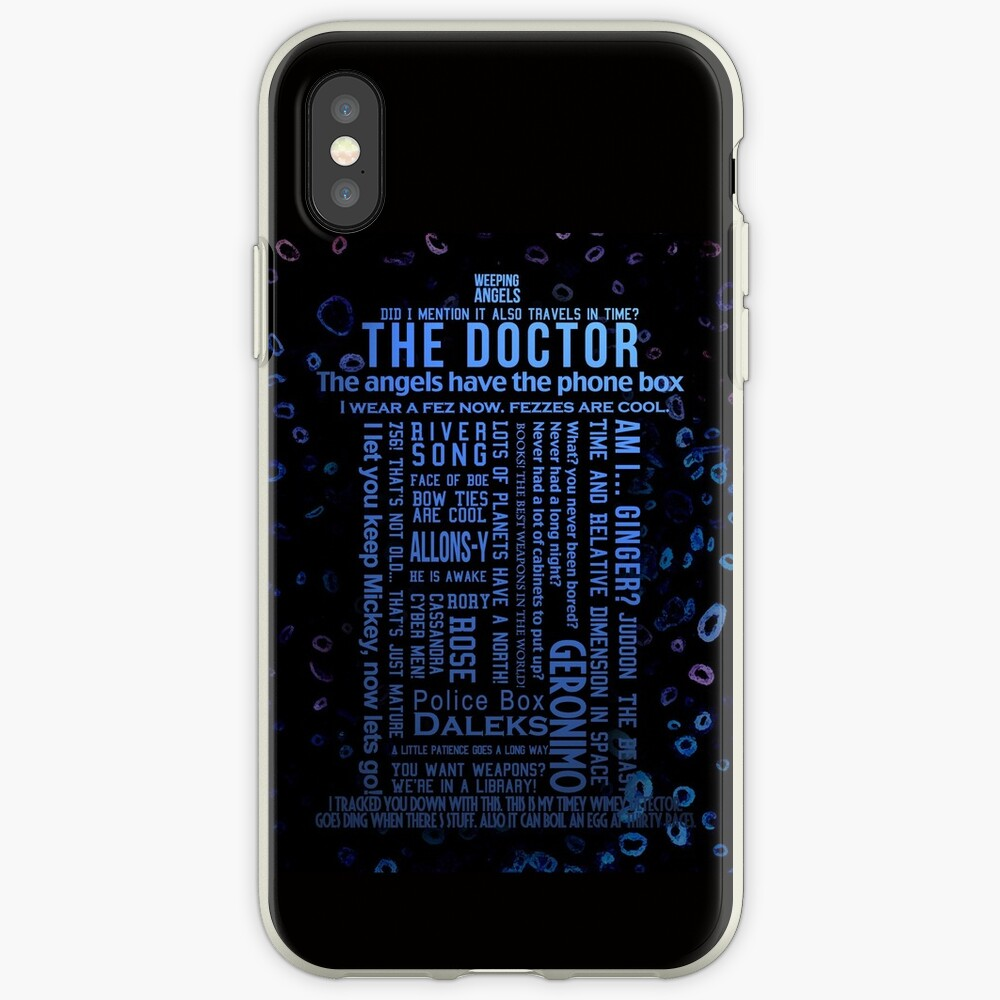 Doctor Who Quotes iPhone-Hüllen & Cover
