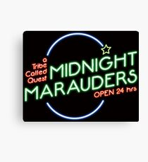 Midnight Marauders Canvas Print