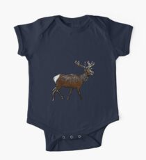 Comic Deer One Piece - Short Sleeve