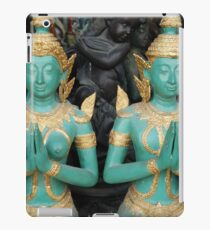 Chiang Mai: Praying Buddhists Sleeping Cherub iPad Case/Skin