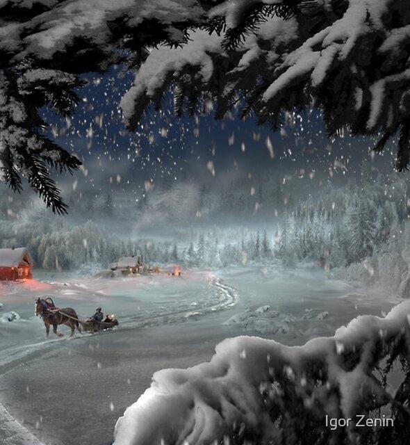Country Christmas by Igor Zenin