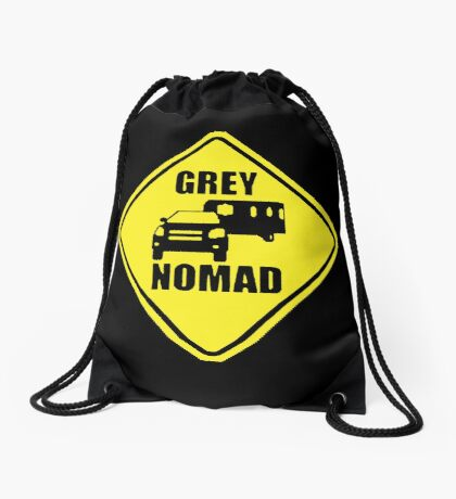 GREY NOMAD Drawstring Bag