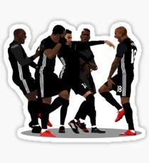 Manchester United - Lingard gegen Arsenal Milly Rock Feier Sticker
