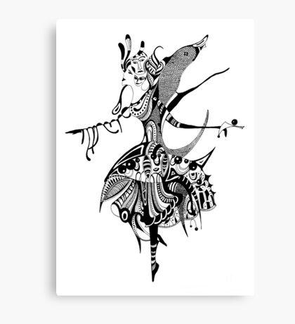 Ballerin Canvas Print