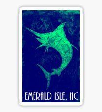 Blue Marlin   (Emerald Isle, NC) Sticker