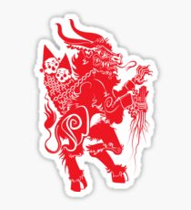 Merry Krampus To All Sticker