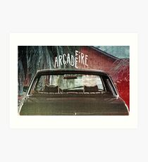 Arcade Fire Suburbs Art Print