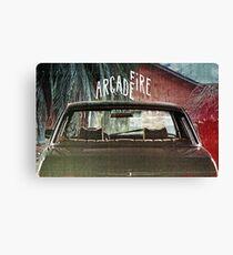 Arcade Fire Suburbs Canvas Print