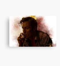 True Detective - Rust Cohle Canvas Print