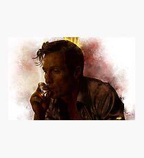 True Detective - Rust Cohle Photographic Print