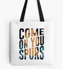 Come On You Spurs COYS Tote Bag