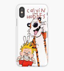 calvin hobbes iPhone Case