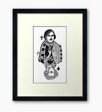 Gogol vs Pushkin Framed Print