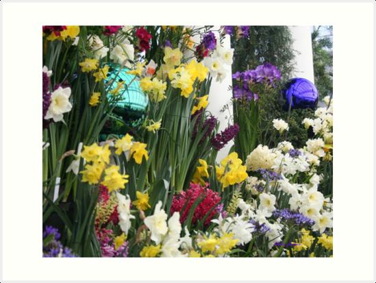 Spring Flowers by Linda Jackson