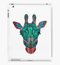 Psychedelic Giraffe - red variant iPad Case/Skin