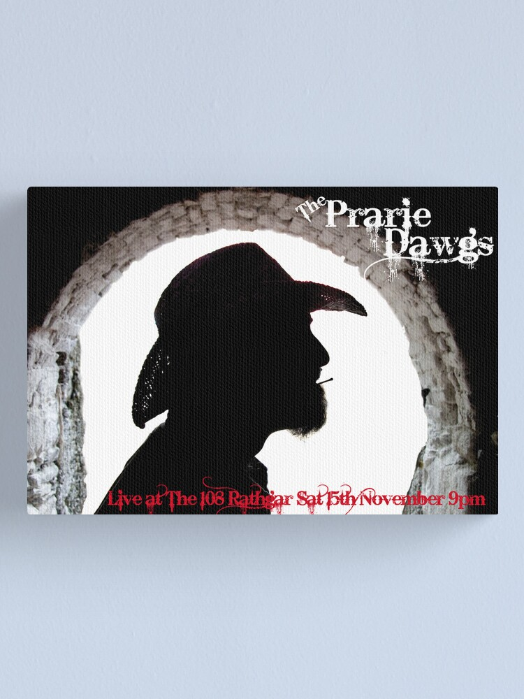 Alternate view of Prairie Dawgs Canvas Print