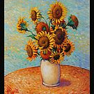 Sunflowers after VVG by HDPotwin