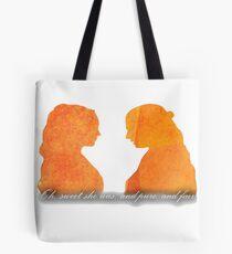 Sansa and Margaery Tote Bag