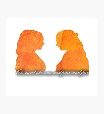 Sansa and Margaery Photographic Print