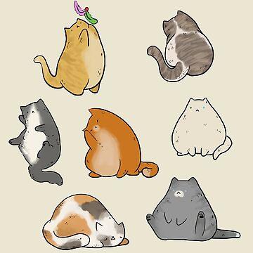 Fat Cats by art-shy