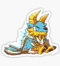 Chibi Monster Sticker