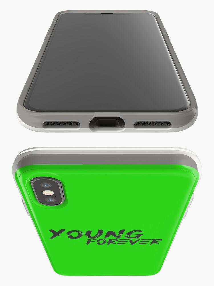 Vista alternativa de Vinilos y fundas para iPhone Young Forever