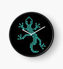 Techno Reptile Clock