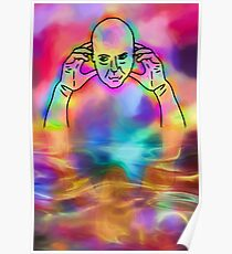 Contemplation Reflecting Contemplations Poster
