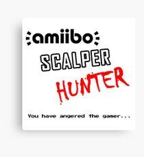 Amiibo Scalper Hunter OFFICIAL Canvas Print