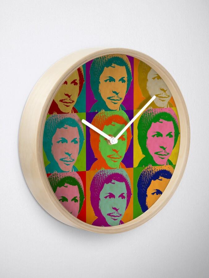 Alternate view of Michael Cera Clock
