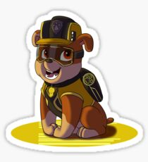 Paw Patrol 'Mission Paw' Rubble Sticker