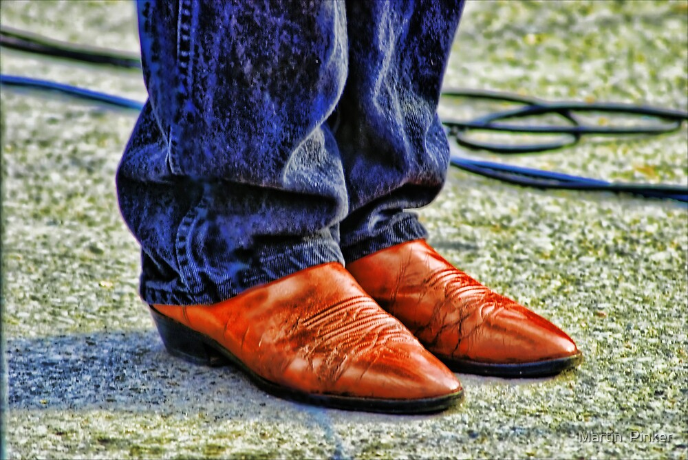 Blues Boots by Martin  Pinker