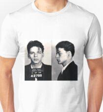 Frank Sinatra Mug Shot Horizontal Unisex T-Shirt