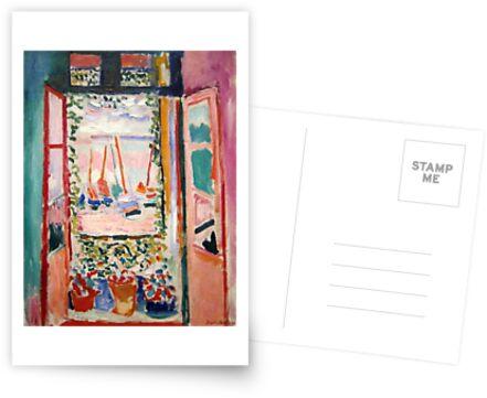 Das offene Fenster - Henri Matisse von LexBauer