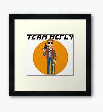TEAM McFLY Framed Print