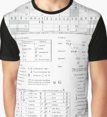 International Phonetic Alphabet IPA Graphic T-Shirt