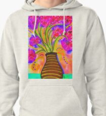 Psychedelic Bouquet Pullover Hoodie