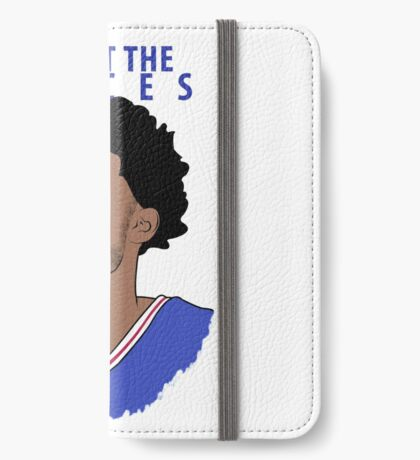 Trust the Process iPhone Wallet