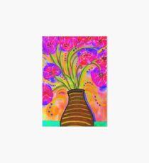 Psychedelic Bouquet Art Board