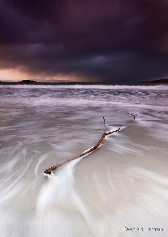 Storms over Skye by Douglas  Latham