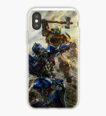 Vinilo o funda para iPhone Transformadores The Last Knight