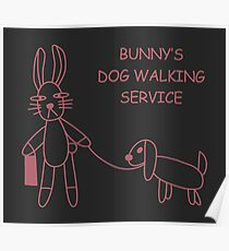 Bunny's Dog Walking Service (Buffy/Willow) Poster