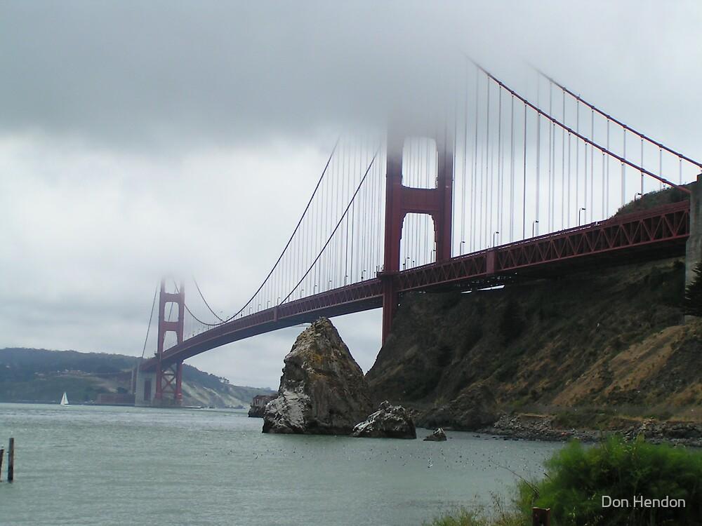 Golden Gate Bridge, SF by Don Hendon