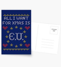 All I Want For Xmas Is EU Postcards