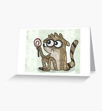 rigby Greeting Card