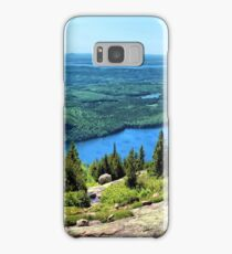 Panoramic View From Cadillac Mountain -  Acadia National Park Samsung Galaxy Case/Skin