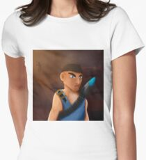 Battle of pencil Women's Fitted T-Shirt