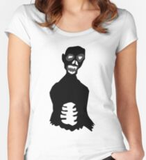 Big Black Zombie Women's Fitted Scoop T-Shirt