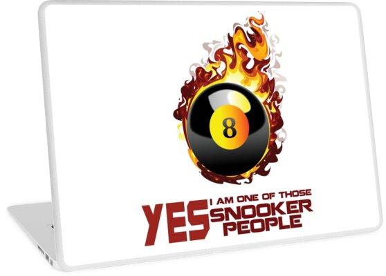 Vinilos para portátiles «Billar Snooker Regalo diseño de la camisa ... 04652fa8dad23