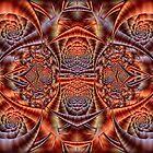 Orange and Plum Epiphany... by Roz Rayner-Rix